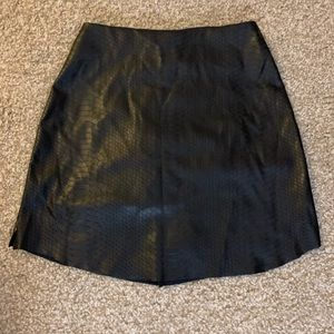 408f5c578f83e Snake skin black mini skirt